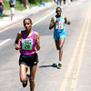 "Mamitu Daska, of Ethiopia (left) edges past Emily Chebet, of Kenya, during the Women's Elite Race during the annual Bolder Boulder 10K Road Race in Boulder, Colorado, Monday, May 31, 2010. <br /> <br /> Kasia Broussalian<br /> <br /> For a video, please visit  <a href=""http://www.dailycamera.com"">http://www.dailycamera.com</a>"