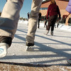 Ice skaters of all ages go onto the ice at the Winter Skate ice rink at the FlatIron Crossing mall on Friday.<br /> <br /> December 23, 2011<br /> staff photo/ David R. Jennings