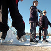 Children of all ages take to the ice at the Winter Skate ice rink  at the FlatIron Crossing mall on Friday.<br /> <br /> December 23, 2011<br /> staff photo/ David R. Jennings