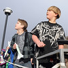 Ethan Curtis, 10, left, and Asher Walker, 10, watch paper rockets fly after launch during the Rocket Works program Saturday at Mamie Doud Eisenhower Public Library.<br /> <br /> February 6, 2010<br /> Staff photo/David R. Jennings