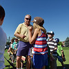 Irv Brown, center, talks to the 5 - 7 year old golfers during Thursday's Youth Golf Camp at Eagle Trace Golf Course.<br /> <br /> July 19, 2012<br /> staff photo/ David R. Jennings