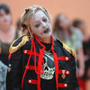 "Maggie Rieken dances to Michael Jackson's Thriller with 100 other ""zombies"" at the Paul Derda Recreation Center on Saturday as a fundraiser for A Precious Child. <br /> October 29, 2011<br /> staff photo/ David R. Jennings"