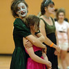 Christy Howard and her daughter Emma, 13, wait o perform Michael Jackson's Thriller dance at the Paul Derda Recreation Center on Saturdayas a fundriaser for A Precious Child.<br /> October 29, 2011<br /> staff photo/ David R. Jennings
