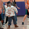"Li Zhi Rieken, 8, dances to Michael Jackson's Thriller with 100 other ""zombies"" at the Paul Derda Recreation Center on Saturday as a fundraiser for A Precious Child. <br /> October 29, 2011<br /> staff photo/ David R. Jennings"