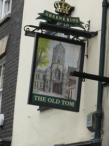 Pub Sign - The Old Tom, St Aldate's, Oxford 110720