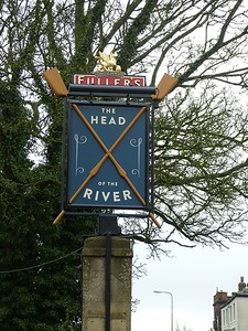 Pub Sign - The Head of the River, St Aldate's, Oxford 180410