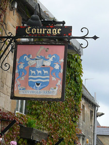 Pub Sign - Cotswold Arms, High Street, Burford 110720