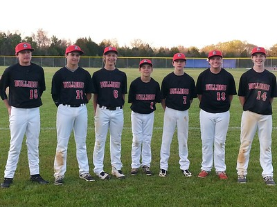 Congratulations to these former Dilworth Little League players now comprising half of the AG Middle School baseball team! Go Bulldogs! Way to represent your neighborhood little league.  From left: Roe Chitwood, Kellen Golden, Matt Halmrast, Cole Williams, Jack Masonis, Wyatt Wiggins, RJ Rhem
