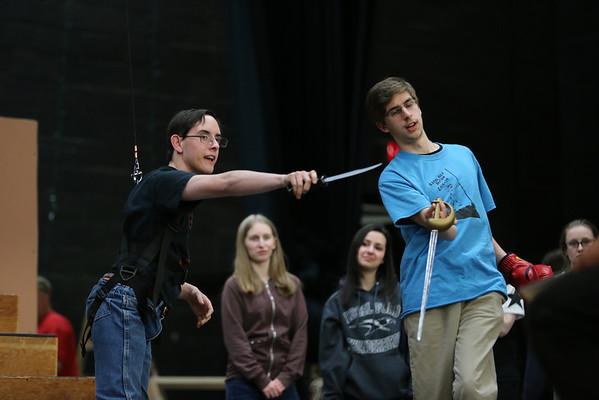 Peter Pan Rehearsal