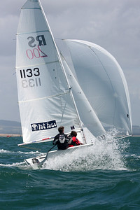 HAYLING ISLAND SAILING CLUB  JUNE 2008 (RS200 AND RS500 YOUTH CH