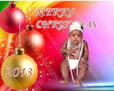 shandreika's baby photos Xmas backdrop