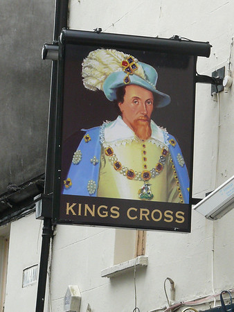 Pub Sign - Kings Cross, Caroline Street, Cardiff 110721