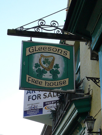 Pub Sign - Gleesons, Stanley Street, Holyhead 101121