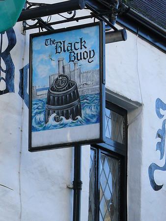 Pub Sign - The Black Bouy, Penllyn, Caernarfon 101119