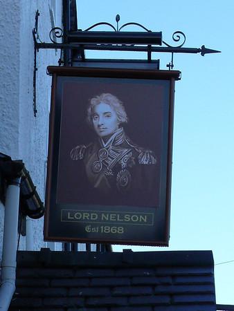 Pub Sign - Lord Nelson, Beach Road, Bangor 101119