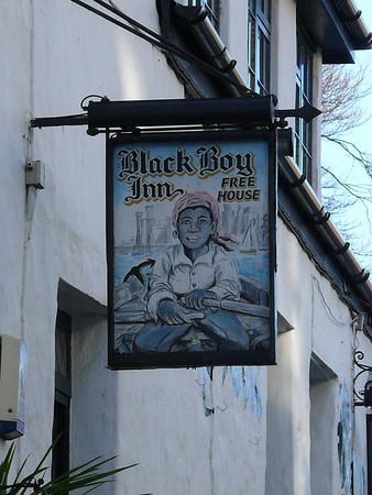 Pub Sign - Black Boy Inn, Penllyn, Caernarfon 101119