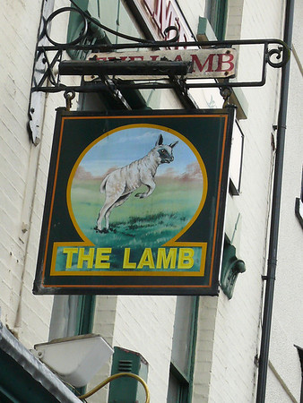Pub Sign - The Lamb, Bridge Street, Newport 110721
