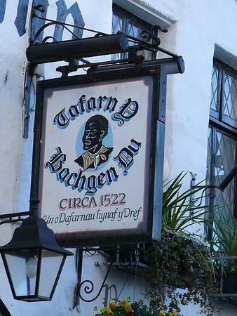 Pub Sign - Tafarn D Bachgen Du, Penllyn, Caernarfon 101119