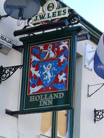 Pub Sign - Holland Inn, Kingsland Road, Holyhead 101121