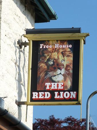 Pub Sign - Red Lion, Tynygroes, 170511.jpg