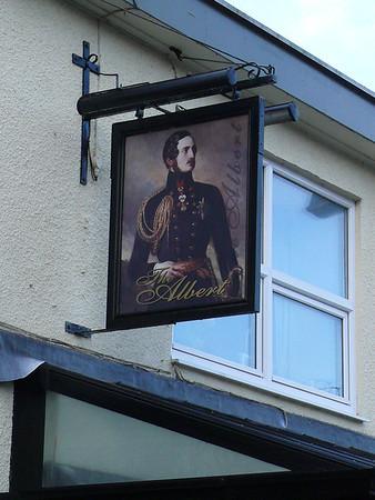 Pub Sign - The Albert, Madoc Street, Llandudno 101122