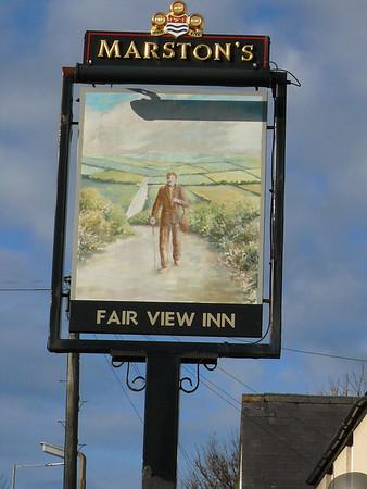 Pub Sign - Fair View Inn, Abergele Road, Llanddulas 101123