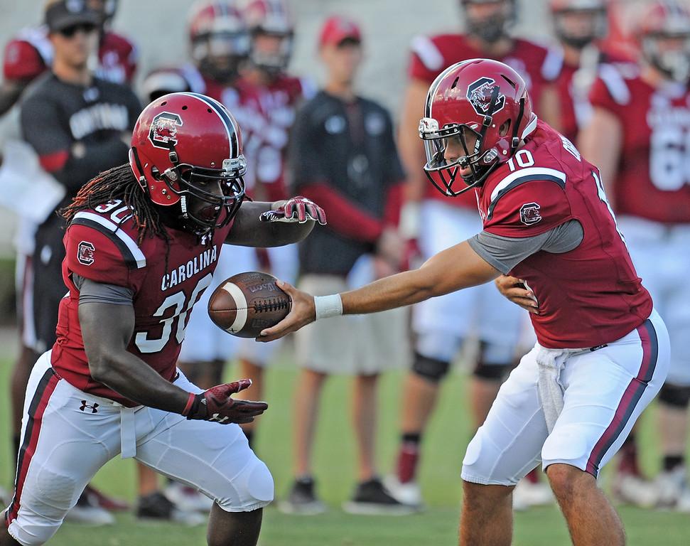 South Carolina Opens Fall Practice