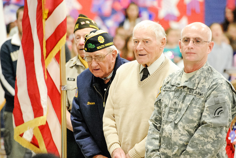 93 Woodland Vets Day Veterans Grand Ole Flag