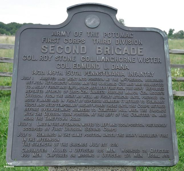 Gettysburg was the regiment's first battle.