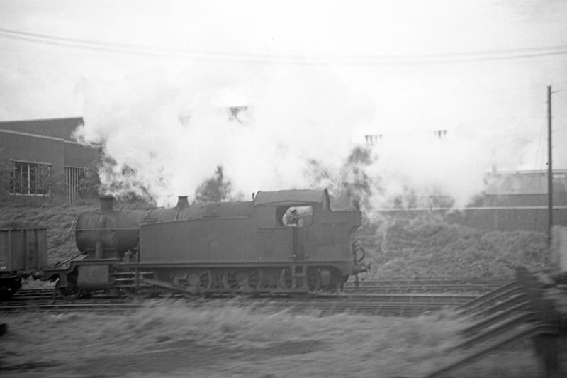 42XX, westbound freight, Margam, August 31, 1963.