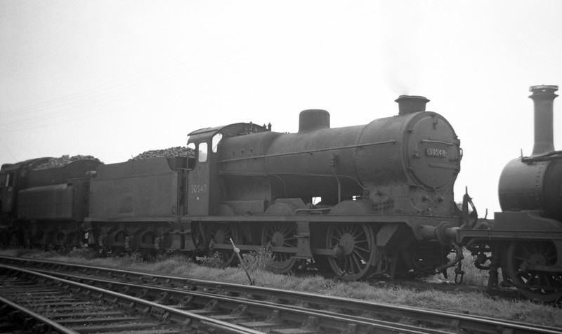 30548, Eastleigh Shed, May 30, 1964.