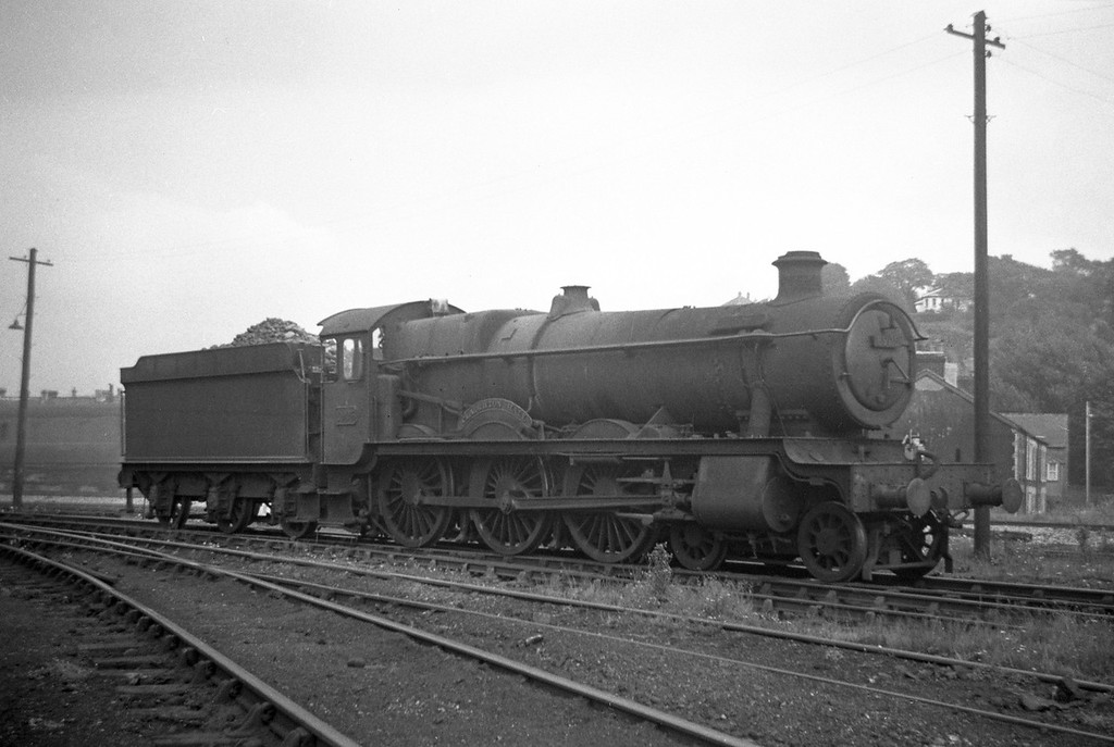 6905 Claughton Hall, backing off Neath Court Sart Shed, August 31, 1963.