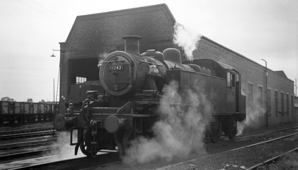 41242, Templecombe Shed, April 27, 1963.