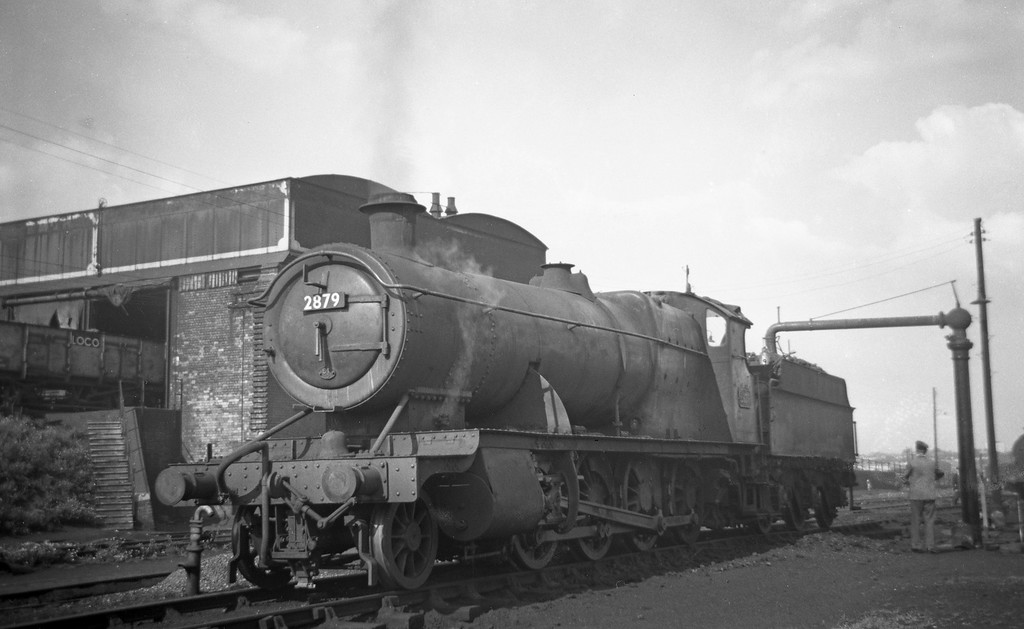 2879, St Phillip's Marsh Shed, Bristol, August 18, 1963.