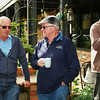 Day 1: Ron, John and Bill at morning tea
