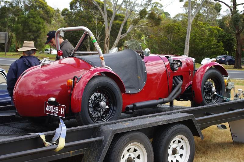 A Jack Brabham racing car