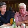 Noellene & John at lunch at the Skipton golf club