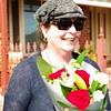 Noellene gets the flowers