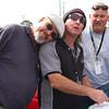 Great minds ... Lockie Story, Ian Bradshaw and Brian Carroll