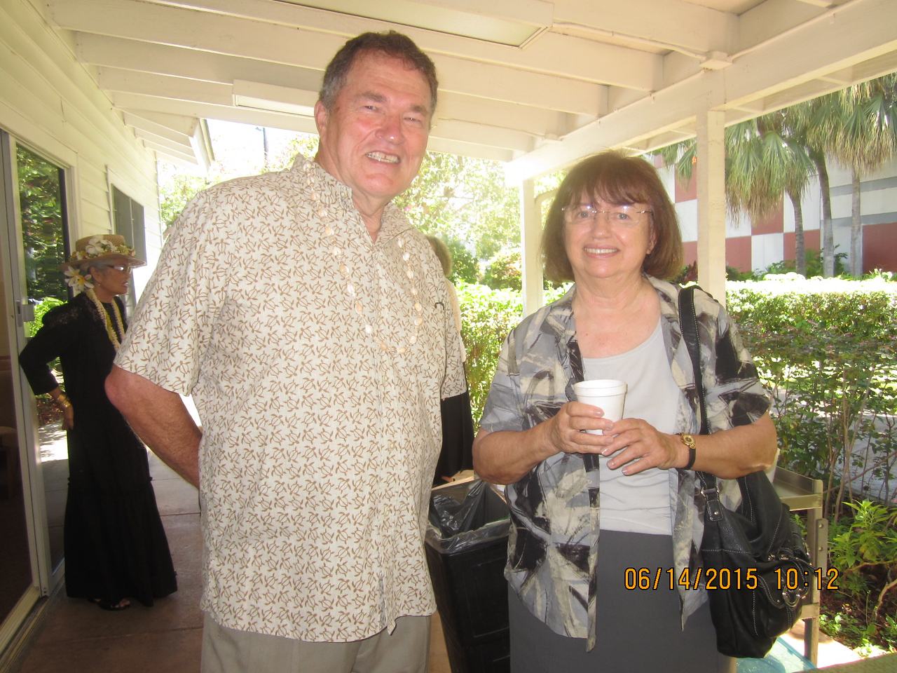 Mike with our Barbara R.