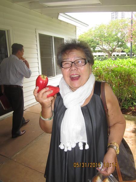 Jordan's grandma is happy that she got 2