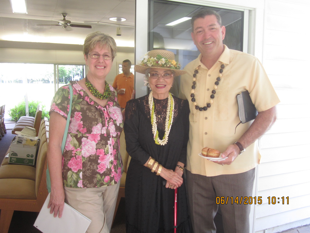 Sue with Ch. & Mrs. Dugal