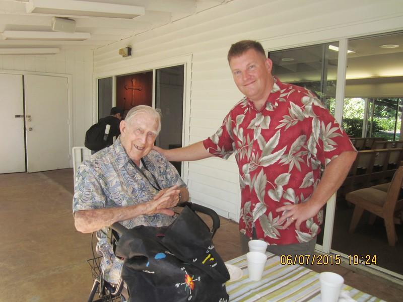 Ch. Mitchell with Al Hardy