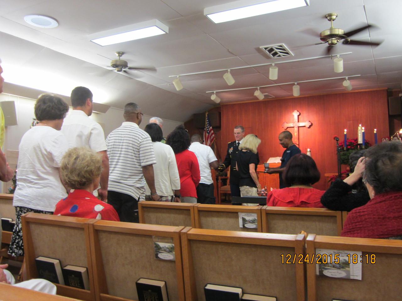 Communion time..