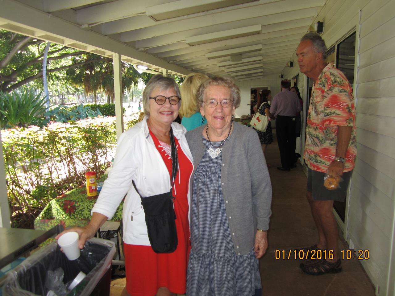 Rita with Mary
