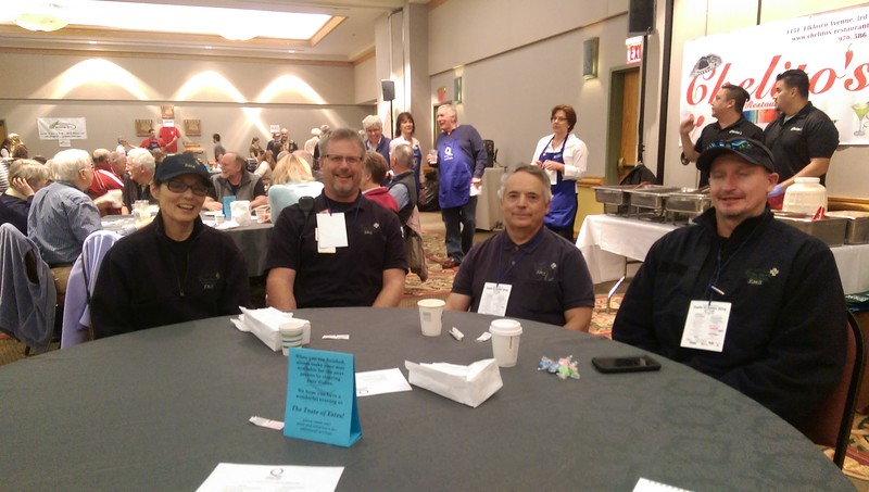 Paramedics and EMTs from the Estes Park Medical Center were also in attendance enjoying the event.