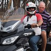 Bikie Ron with Alan Everett