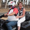 Bikie Mary with Alan Everett