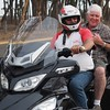 Bikie John with Alan Everett