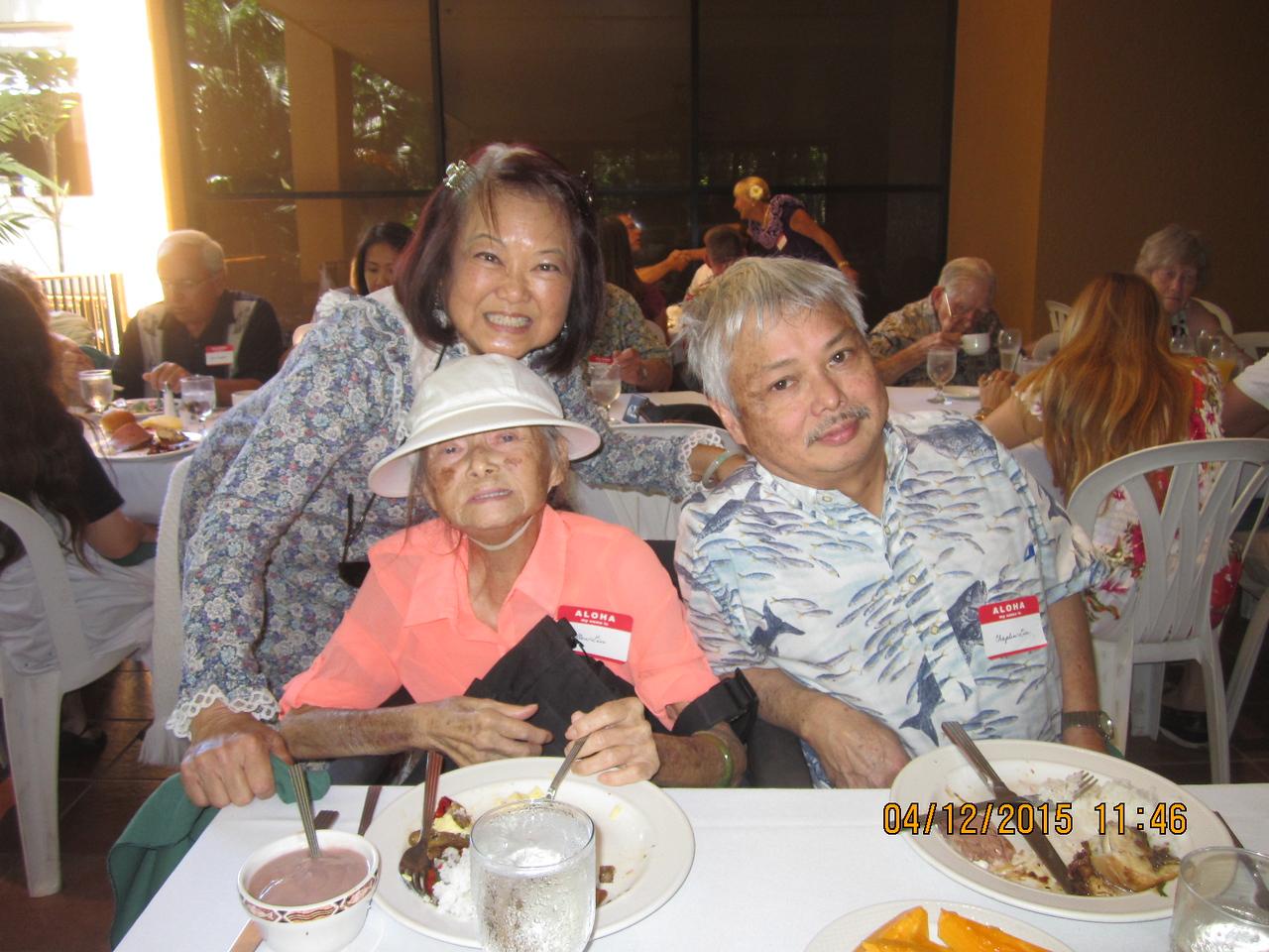 Marilyn - Mama Ellen - Chaplain Lim